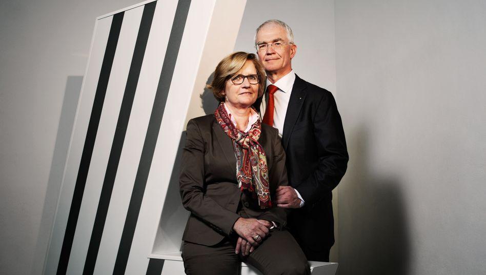"""Sieger in der Kategorie """"Industrie"""": Dorothee und Heinrich Strunz, Lamilux"""