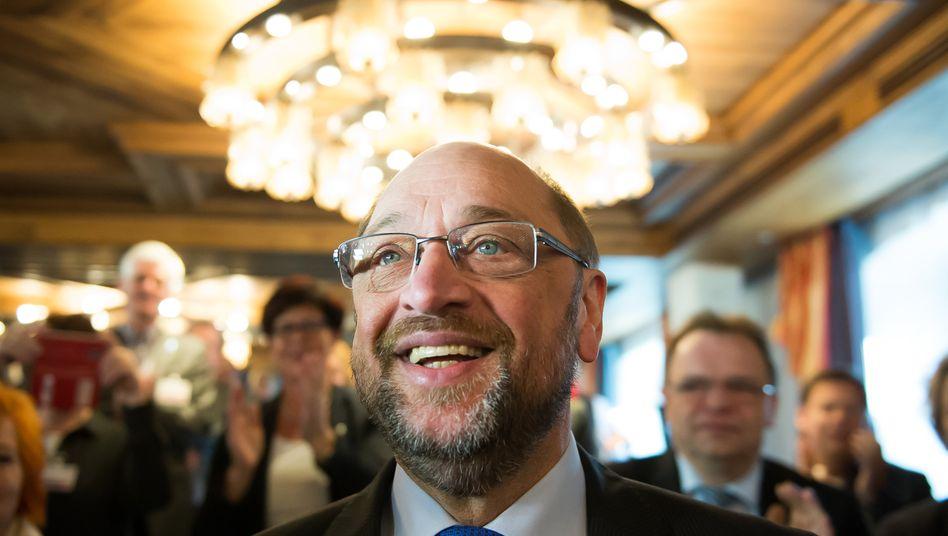 Will mehr Arbeitsplätze schaffen: SPD-Kandidat Schulz