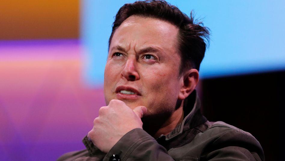 Kann es selbst kaum glauben: Tesla-Chef Elon Musk