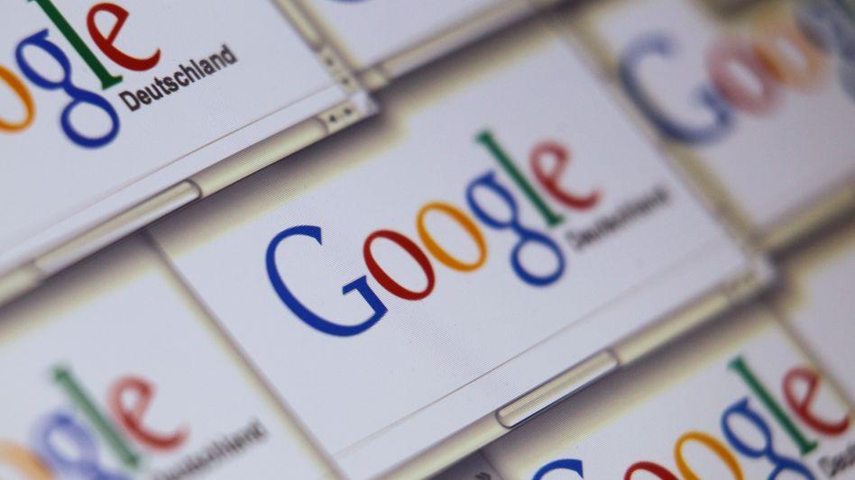 Google-Webseite: Konzern im Fokus von Kritikern