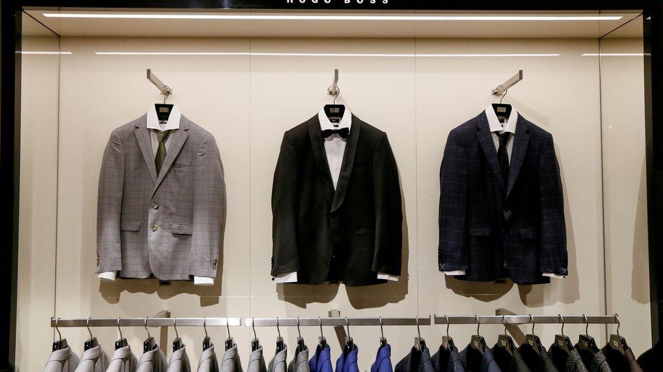 Hugo-Boss-Store: Nach dem schwierigen Sommer konnte Hugo Boss im Schlussquartal noch einmal deutlich zulegen