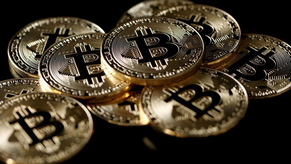 Im Dunkeln: Mit Bitcoins und Co geht es weiter abwärts.