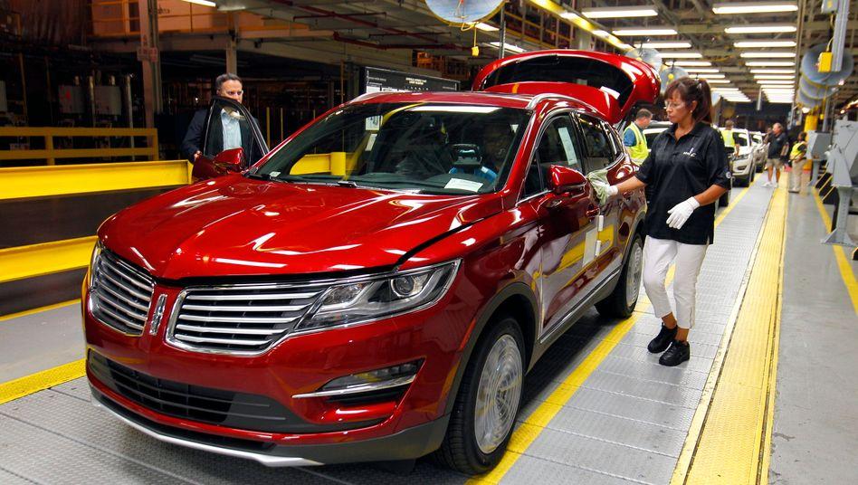 Bleibt, unabhängig von Trump: Lincoln-Produktion in Louisville, Kentucky