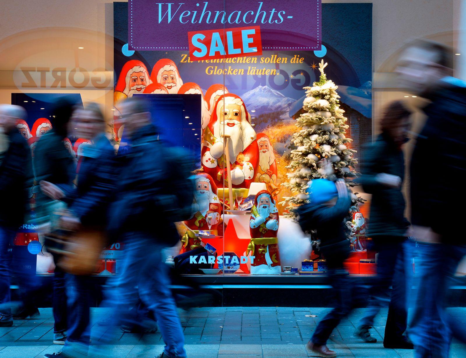 Weihnachten / Shoppen / Konsum