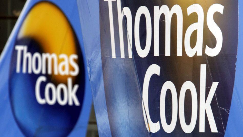 Logo von Thomas Cook: Der zweitgrößte Tourismuskonzern Europas braucht mehr Kredit