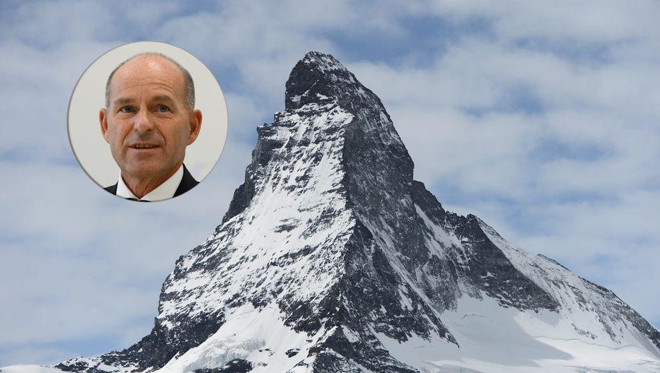 Verschwunden im Skigebiet am Mattherhorn: Tengelmann-Chef Karl-Erivan Haub