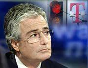 Er hat mal wieder das Nachsehen - Telekomchef Ron Sommer