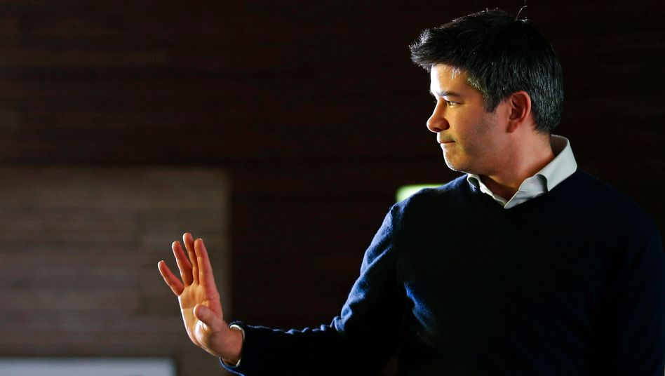 Uber-CEO Travis Kalanick: Der will doch nur spielen - oder?