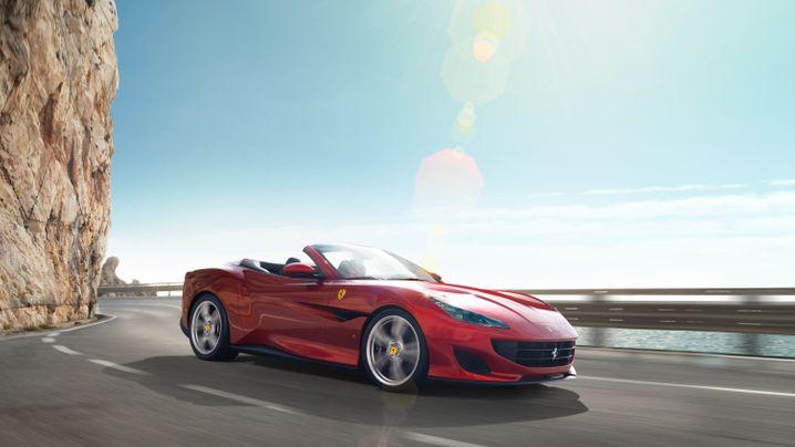 Ausfahrt: Unterwegs im Ferrari Portofino
