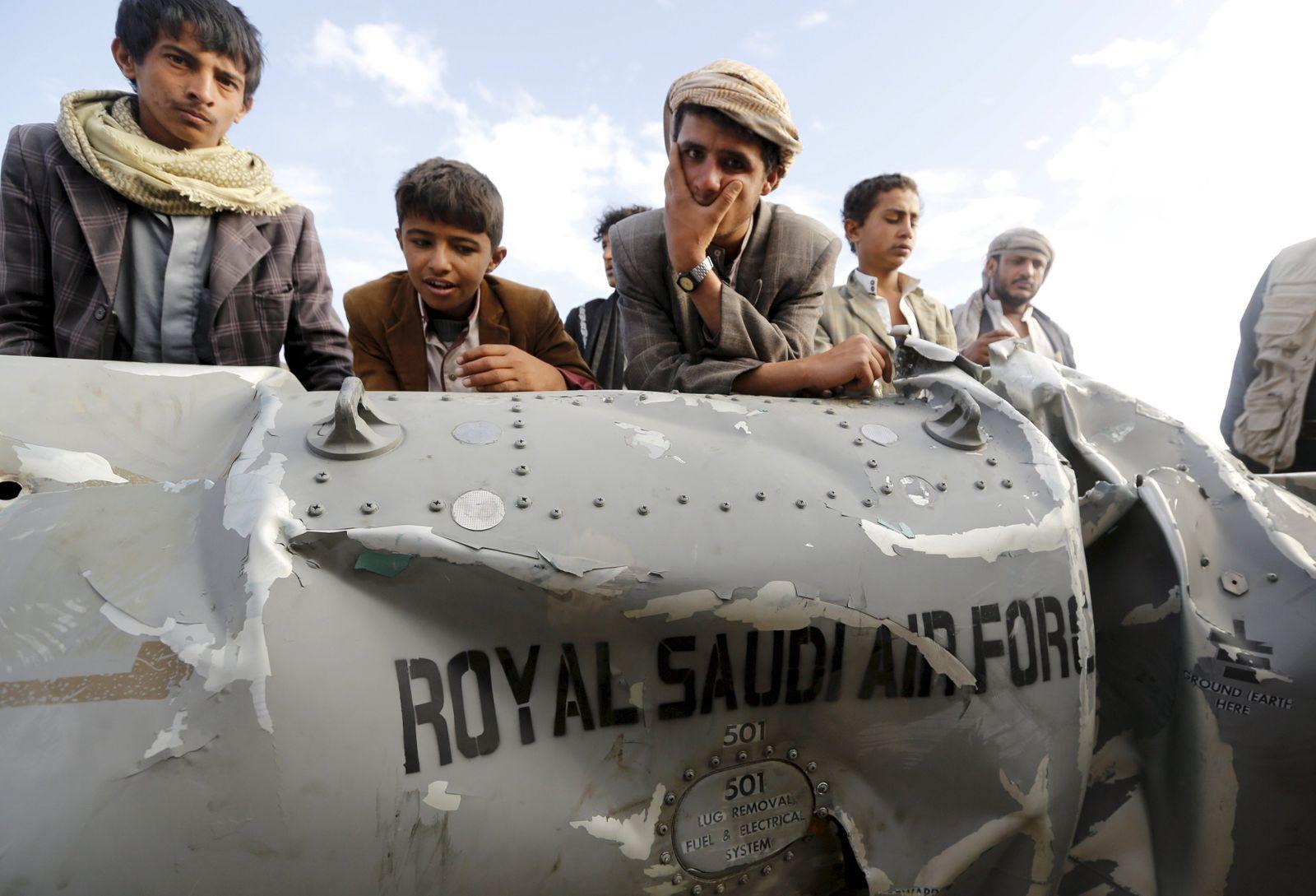 Jemen / Saudi-Jet