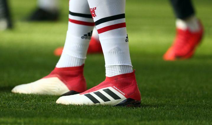 Adidas-Schuhe von Paul Pogba (Manchester United)