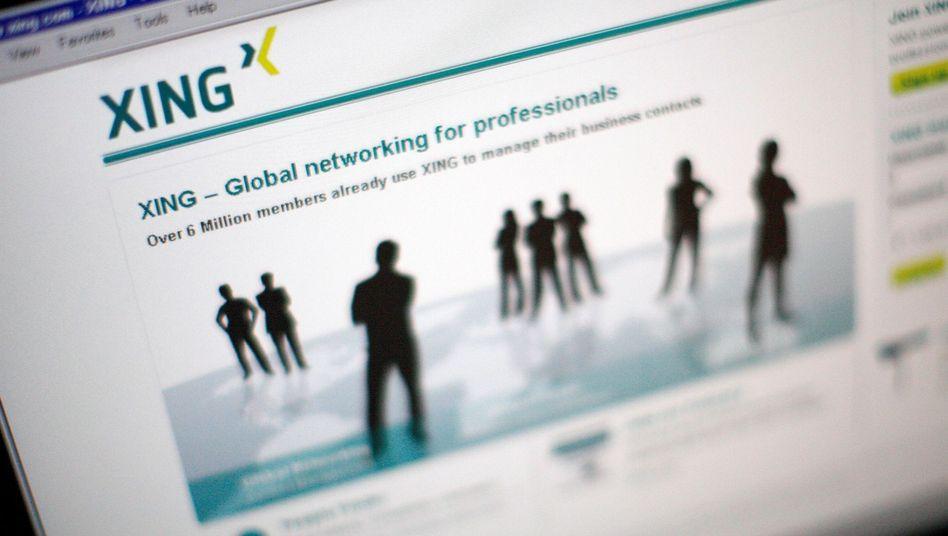 Global war gestern: Heute konzentriert sich das Business-Netzwerk Xing auf den deutschsprachigen Markt