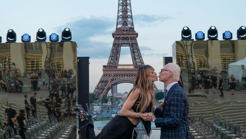 "Heidi Klum, hier mit ""Making the Cut""-Co-Star Tim Gunn"