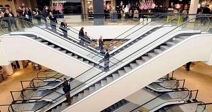 Leere Konsumtempel: Die Bundesregierung erwartet die schwerste Rezession der Nachkriegsgeschichte