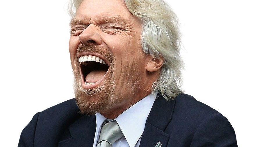 Schmähredner: Gegen Konkurrenten wie British Airways teilt Virgin-Chef Richard Branson gern verbal aus