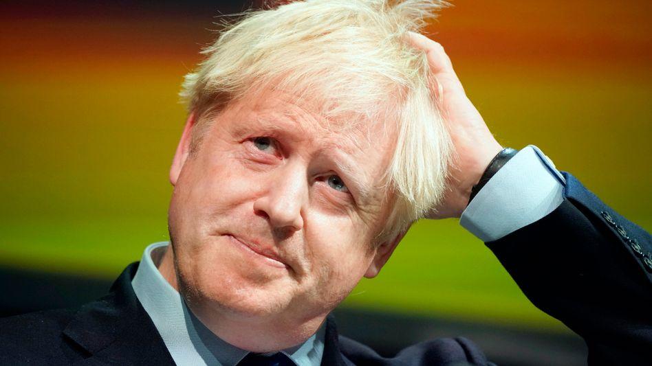 Boris Johnson: Der britische Premier hat seine ganz eigene Interpretation der Kritik an der verordneten Schließung des britischen Parlaments.