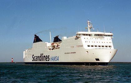 25 Scandlines-Fähren:Die Bahn-Tochter besitzt auf der Ostsee ein Drittel Marktanteil