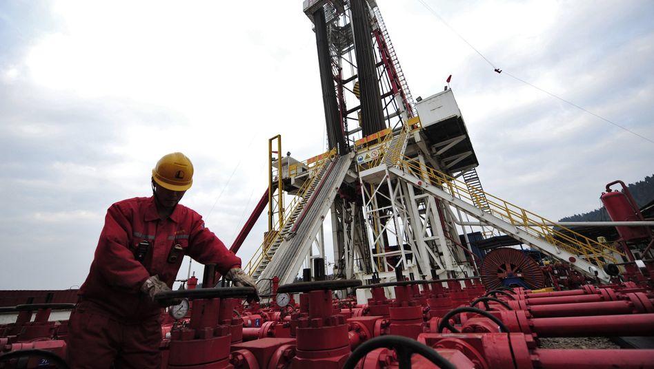 Gasförderung in China: Energienachfrage verschiebt sich nach Asien