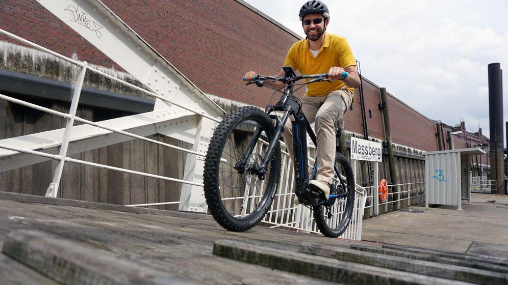 Elektro-Mountainbike Rose Elec Tec: Das Rad-Monster für die ganz steilen Sachen
