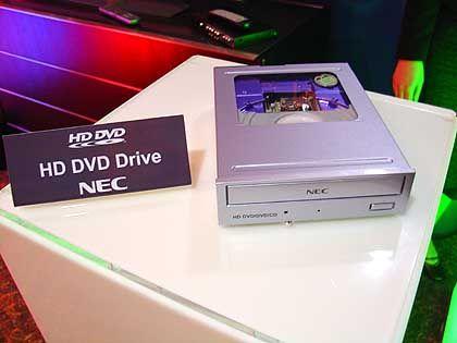 Blue-ray-Konkurrent: HD-DVD-Player von NEC