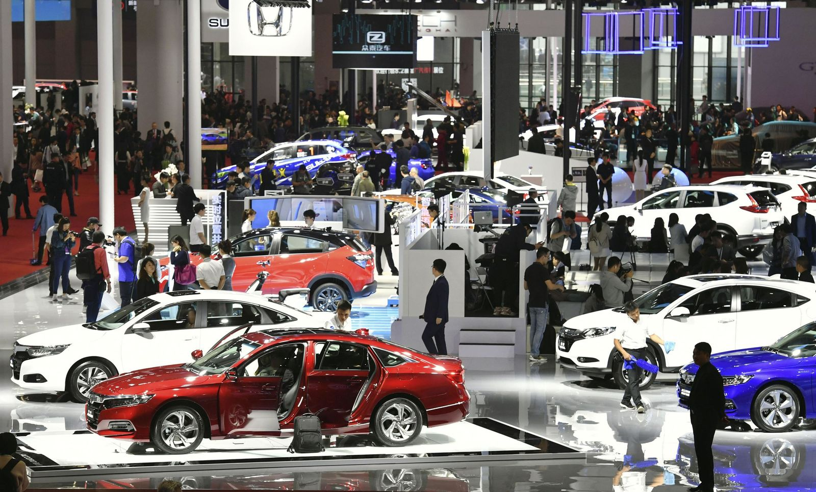 Internationale Automesse «Auto Shanghai»