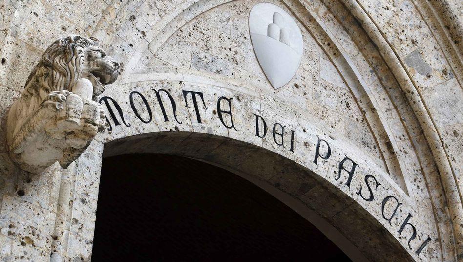 Bankhaus Monte Dei Paschi in Siena: Die 1472 gegründete MPS gilt als älteste noch operierende Bank der Welt