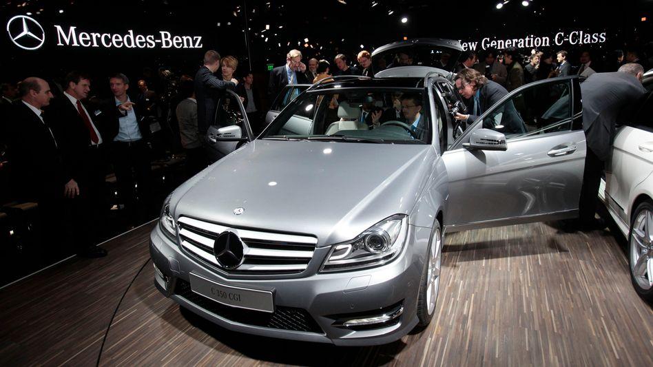 Internationale Auto-Show in Detroit im Januar 2011: Mercedes legt in USA zu