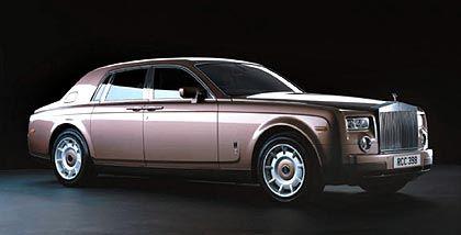 Begehrter Brite: Die erste Jahresproduktion des Rolls-Royce Phantom von 700 bis 800 Stück ist angeblich bereits ausverkauft