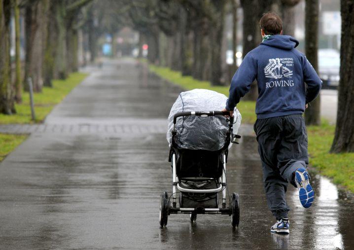 Auch bei Regen, auch mit Kind: Wenn Sie einen verbindlichen Plan haben, gelingt Ihnen das