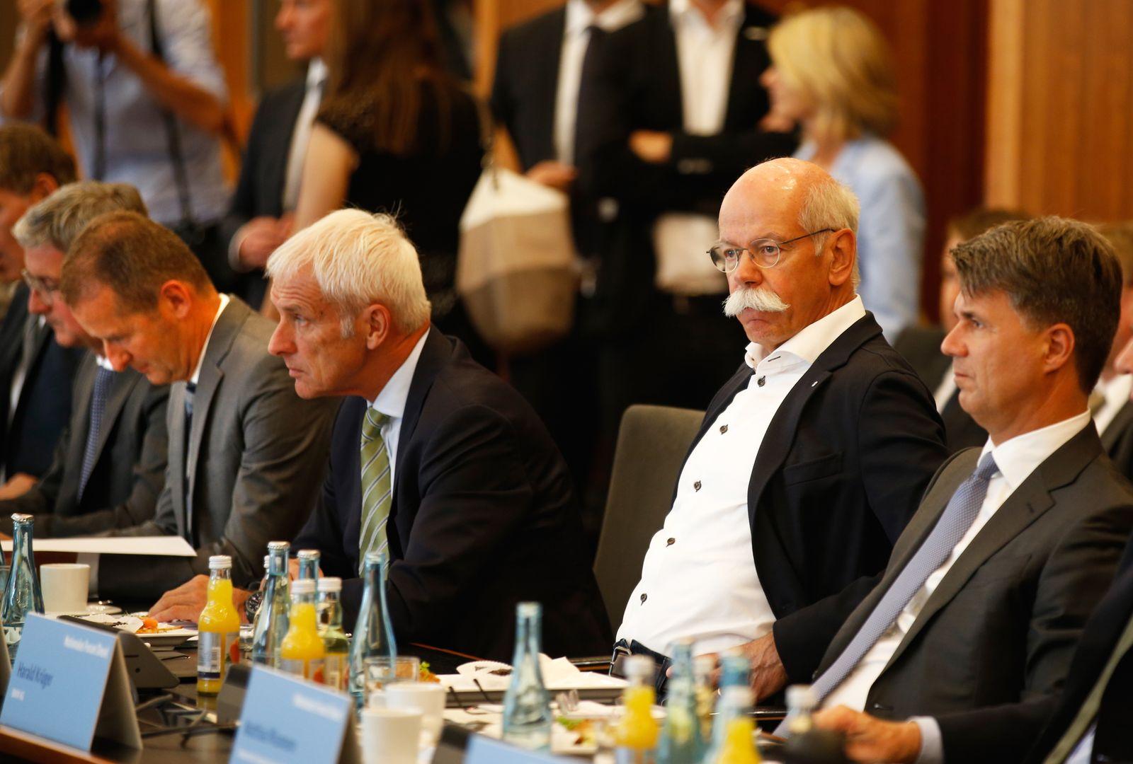 Zetsche / Diess / Krueger