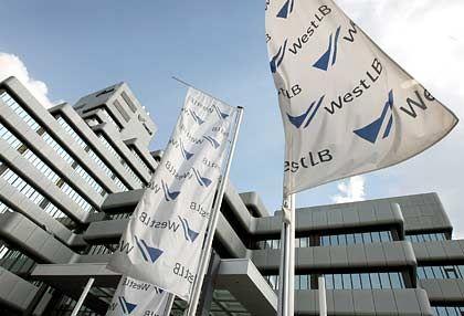 Ein Teil des Tafelsilbers wird verkauft: WestLB-Zentrale in Düsseldorf