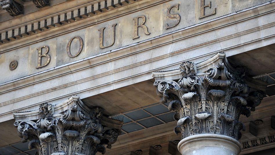Börse in Paris: Die Total-Aktie sackte auf ein Dreimonatstief ab