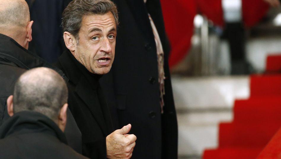 Festgenommen: Der französische Ex-Präsident Sarkozy gerät in der Bestechungsaffäre unter Druck