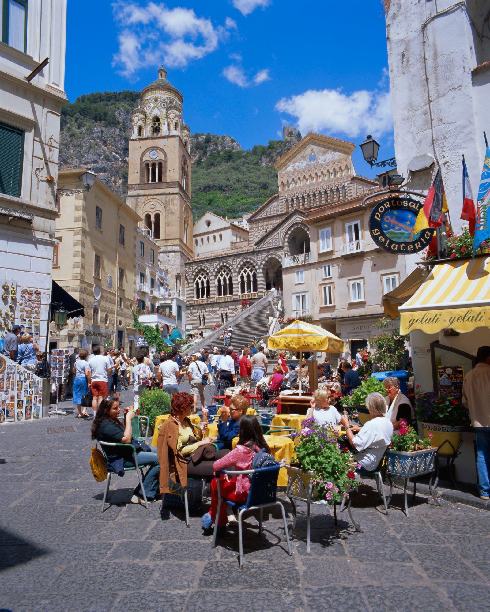 NICHT MEHR VERWENDEN! - Amalfiküste / Amalfi / Italien / Kirche