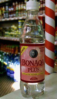 Wasser ist nicht gleich: Bonaqa-Flasche