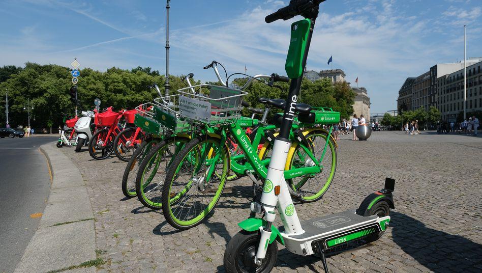 Insgesamt und in den meisten Städten profitabel: Zahlen nennt der Tretroller-Verleiher Lime aber nicht