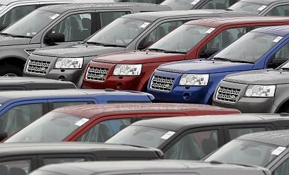 Autos aus Britannien: Wagen wie der Landrover sind kaum noch gefragt