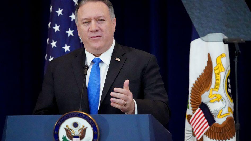 """US-Außenminister Mike Pompeo: Der Begriff """"Wuhan-Virus"""" macht deutlich - schuld sind die anderen"""