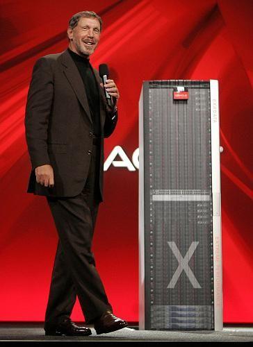 Oracle-Chef Larry Ellison: Der Softwarekonzern zahlt erstmalig eine Dividende