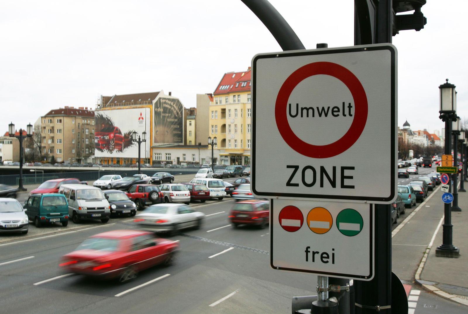 Auto-Verkehr Umweltzone