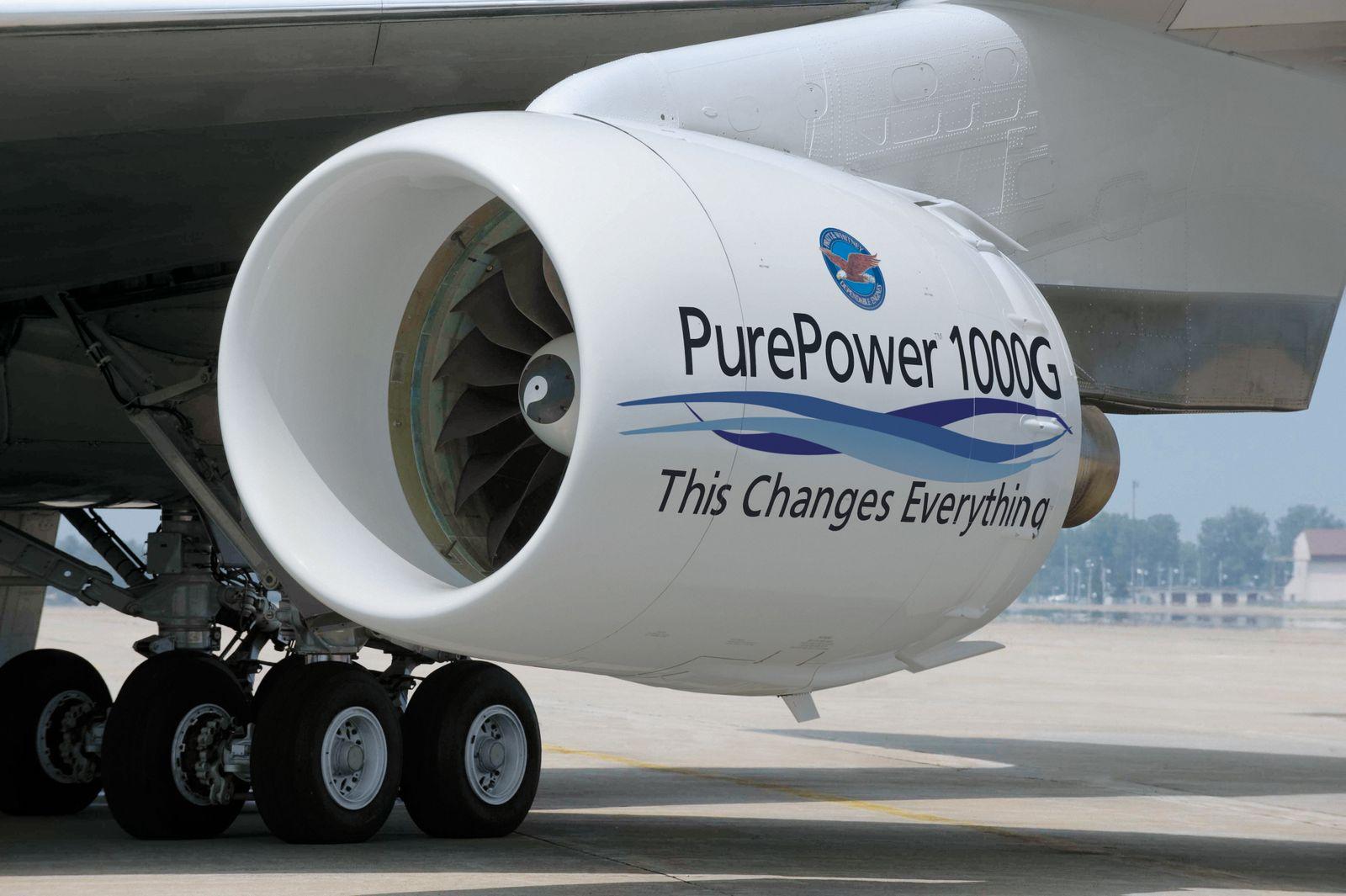 MTU Aero Engines / Getriebefan / PW1000G