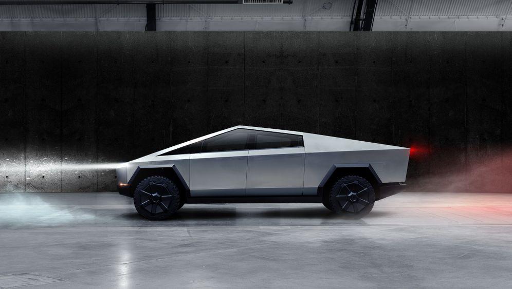 """Elektroauto-Hersteller stellt Pick-up-Truck vor: Teslas """"Cybertruck"""" in sechs Zahlen"""
