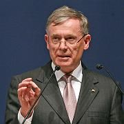 Warnt vor Panik: Bundespräsident Köhler