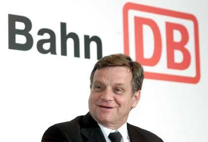 Bahn-Chef Mehdorn: Attraktive Transportwege