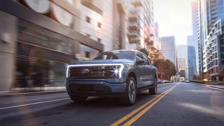 Pick-up wird mit E geschrieben: Der Ford F-150 ist seit mehr als vier Jahrzehnten das meistverkaufte Auto der USA – und ab 2022 einer der ersten rein eleketrischen Pick-ups