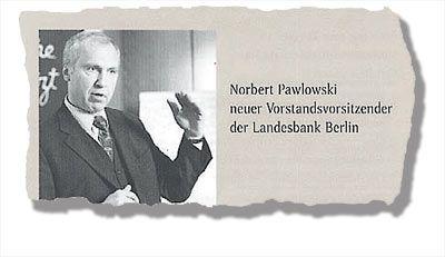 Selbstdarsteller: Mit einer Imagebroschüre feiert Konzerncontroller Pawlowski seinen Aufstieg