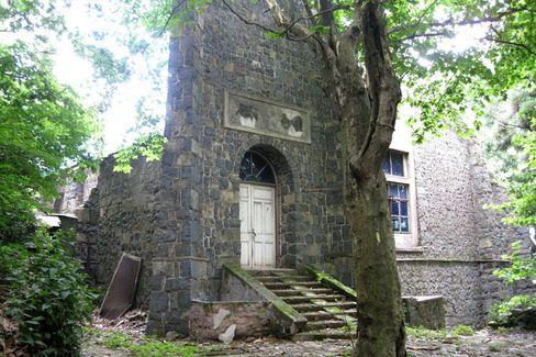Zeitzeugen: Auch die Kirche in Moganshan steht noch