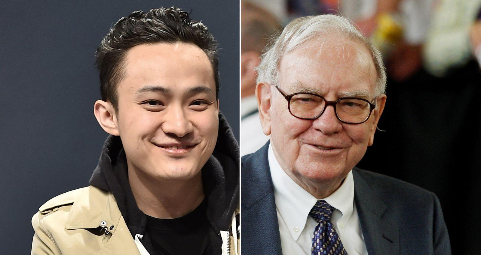 EINMALIGE VERWENDUNG 2er Kombo Justin Sun/Warren Buffet