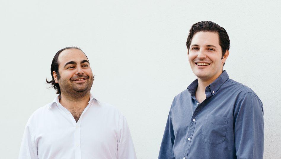Von null auf 2,9 Milliarden: Hakan Koç (l.) und Christian Bertermann steuern eines der wertvollsten Start-ups weltweit