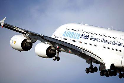 A380: Pyrotechnische Panne